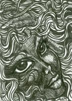 Kathy : Doodle Art ACEO by alyssakay