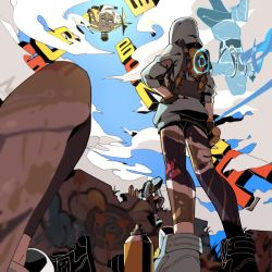 Tracer Graffiti by zack-awesome
