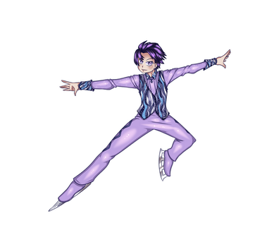 Yuzuru fanart for mokochana by Grid-Works