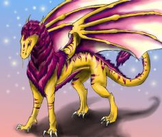 Gawain, the Dragon 2 by KajatheDog