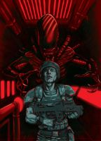 Aliens i gotta bad bad feeling by EmanuelMacias