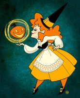 Goodly Witch by belledee