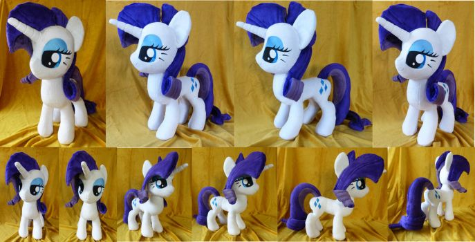 Large Rarity Plush FOR SALE by PantherPawCreations