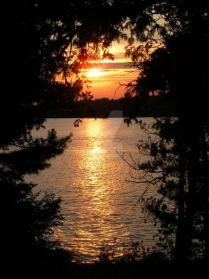 Silver Lake Sunset 2008 by mastersphotography