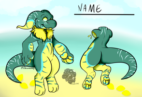 Beach Lemon Snorfen adopt by Darumemay