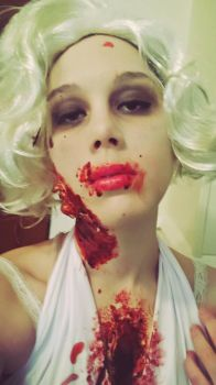 Eat you heart out boys~Zombilyn Monroe by Jules-d-Ar