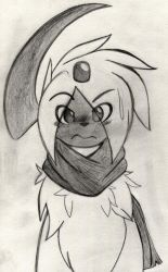 Rick The Absol by Zander-The-Artist