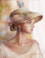 Hat by Ruiwen-art