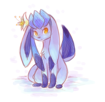 Glaceon Aria by ClefdeSoll