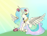 sun horse in the sun by Ponycide