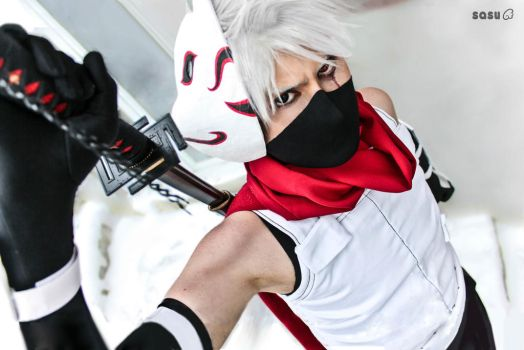 Anbu Kakashi by Suki-Cosplay