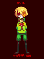 Switching Flowey And Frisk Race   Undertale by Soursopful