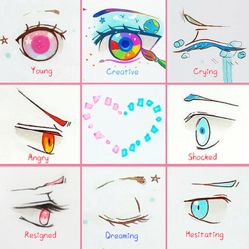 +Eye Expressions Sheet 5 + by larienne