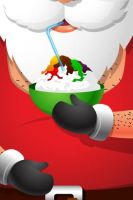 Xmas iphone Wallpaper 6 by harwenzhang