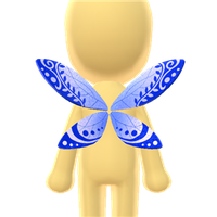 Butterfly Fairy Wings by Rosemoji