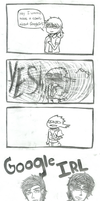 Announcement: GOOGLE IRL COMIC by Azuneechan