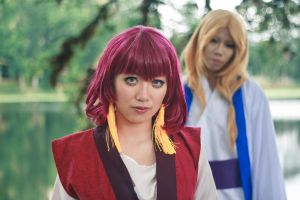 Yona and Su Won in Hak's Dream [Cosplay] by firecloak