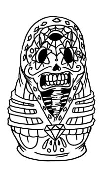 Day of the Dead by InkyTheCartoonist