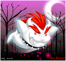 .:King Boo Bowser:. by Bowser2Queen