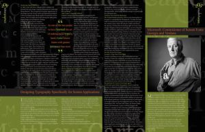 Magazine Layout pages 3-4 by Crutchfield-Creative