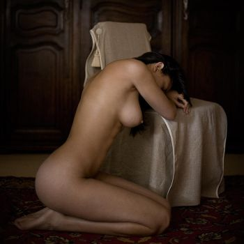Nude at the chair by fb101