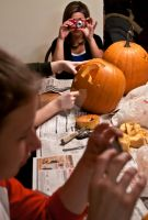 Pumpkin carving and games by eyenoticed
