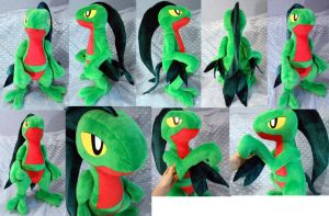 1/1 scale Grovyle (commission)