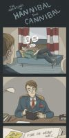 (Comic) The Adventures of Hannibal the Cannibal #1 by ekzotik