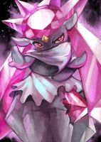 Type Fairy: Diancie by Yilx