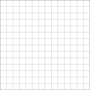 Cross Stitch Grid: 14x14 count fabric Square by ReekaRose