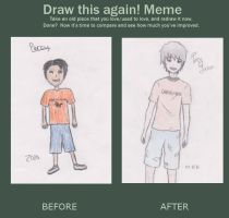 Draw This Again Meme by volleywolf27