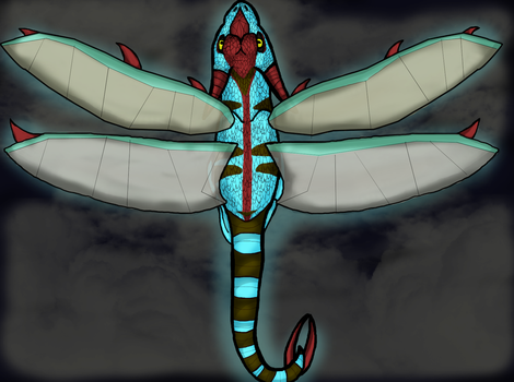 Why does dragonfly have it's name? by WonderlandTrades
