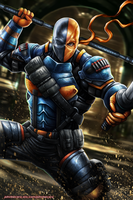 DEATHSTROKE by johnbecaro