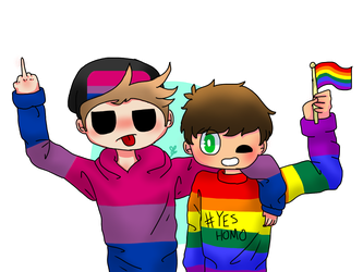 Pride boyos by StarDustTrash