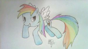 RAINBOW DASH!!! by anime-girl1709