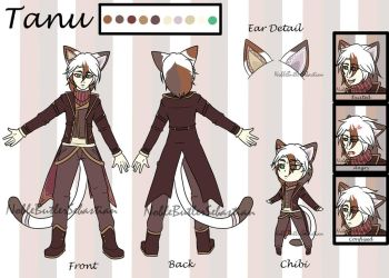 Reference Sheet- Tanu by NobleTanu