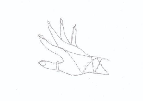 hand sketch by Amberegal