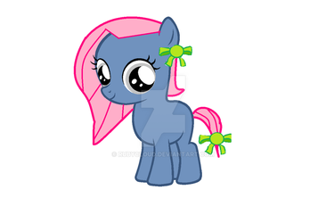 My OC Filly by Rubycloud