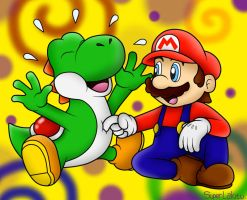 RQ for TheTicklishYoshi: Tickle time!!! =3 by BoxBird