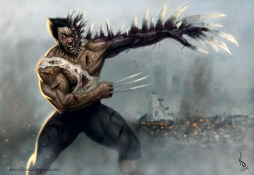 Wolverine over 9000 by TestosteronMan