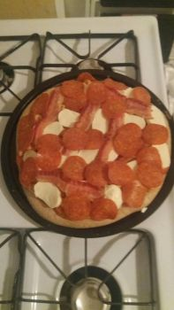 pepperoni and bacon by BruceHulkBanner