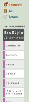Gallery Menu Icons Commish - EroStyle by Sleepy-Stardust