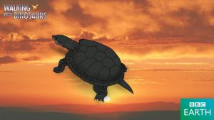 Walking with Dinosaurs: Black turtle by TrefRex