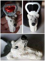 Bottle openers: Polar bear by SaQe