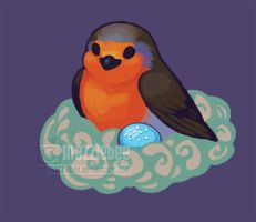 robin for seestor UUUURNG by Mazzlebee