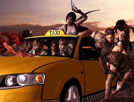 Taxi driver by Ygure