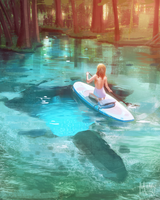 Paddle Board by LivingAliveCreator