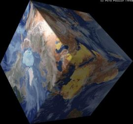 Cube Earth by zwei2stein
