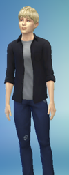 Ryuu Beilschmidt In Sims 4 by TheOneAndOnly-K