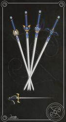 Rayearth Umi Weapons by Lunamis